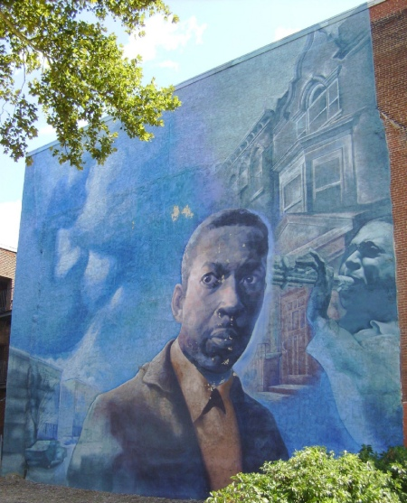 john lewis mural of john coltrane now gone
